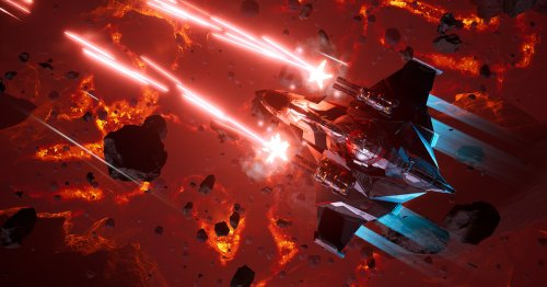 Chorus is a high-concept, AAA-quality space shooter that encourages exploration