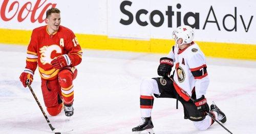 Matthew Tkachuk and Friends Defeat Ottawa Senators 6-1 on Mother's Day