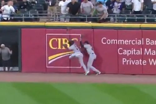 Cleveland's outfield just gave up the dumbest home run imaginable