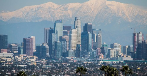 See how much LA's skyline changed in 10 years