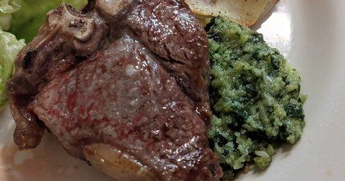 RBR Tailgating: Lamb Loin Chops with Mint Pesto