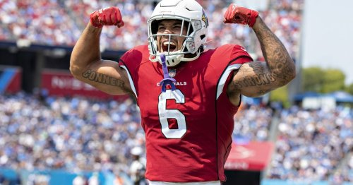 James Conner scores first touchdowns with Cardinals