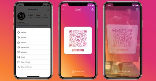 Instagram launches QR codes globally, letting people open a profile from any camera app