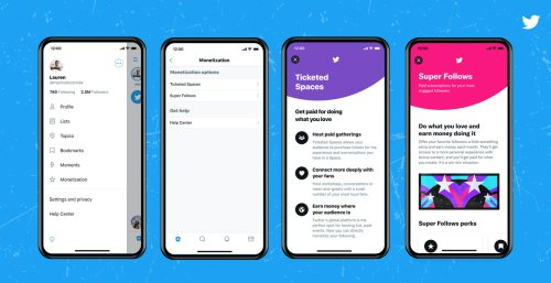 Twitter is opening applications to test Ticketed Spaces and Super Follows