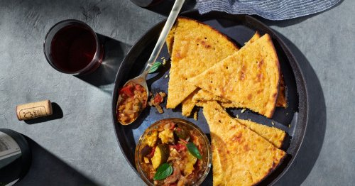 This Crispy, Creamy Socca With Ratatouille Will Transport You to the South of France