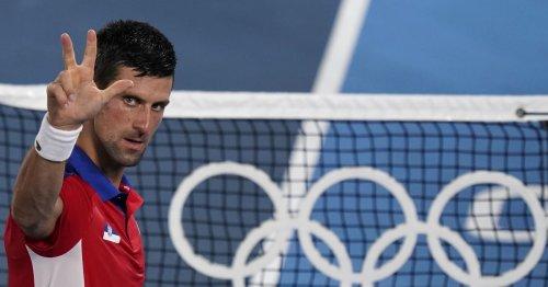 Novak Djokovic reaches Olympic medal rounds