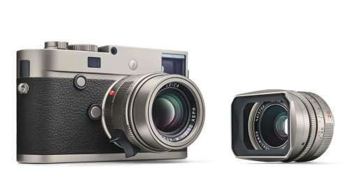 Leica's limited edition M-P Titanium camera looks cool, will probably cost as much as a car