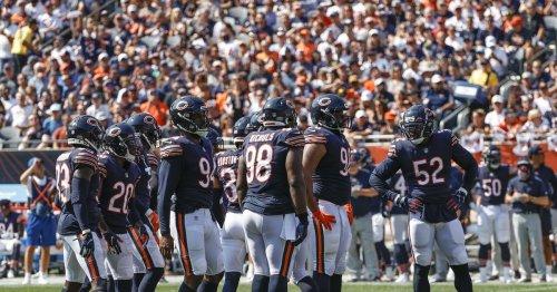 Bears defense just swarming up