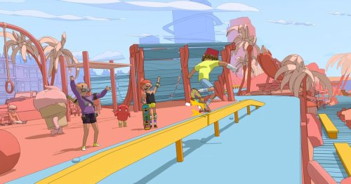 OlliOlli World is reminding us what it's like to be outside again