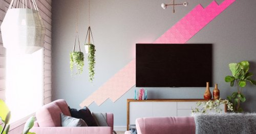 A starter pack of Nanoleaf's stunning canvas panels is $50 off at Costco today