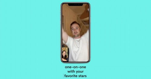 Cameo Calls let you have a video meet-and-greet with a celebrity