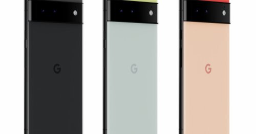 Someone unboxed the Pixel 6 early and didn't bother to turn it on