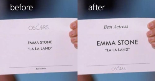 The typography fix that could have stopped the Oscars Best Picture blunder