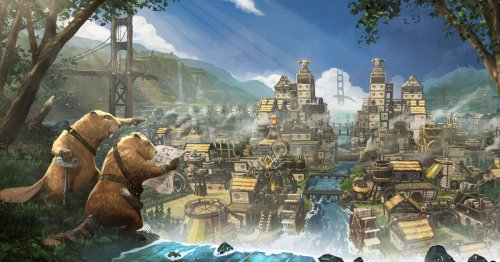 Behold this city builder starring super-intelligent beavers