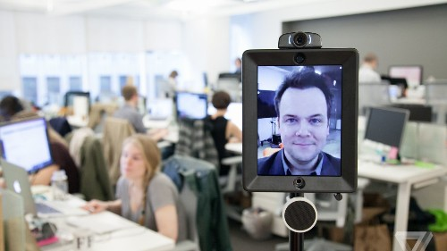 Double Robotics' new telepresence robot brings more speed, stability, and sight