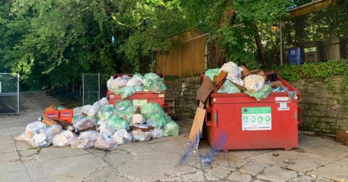 Trash piles, staff shortages and COVID testing woes — a rocky start for Philly schools