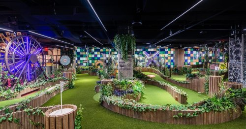 Inside Dupont's New Swingers, a Crazy Golf Course Slinging a Steady Stream of Cocktails