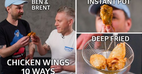 Expert Butchers Test Out 10 Different Chicken Wing Recipes