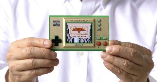 Nintendo is releasing a Zelda-themed Game & Watch handheld