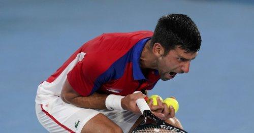 Novak Djokovic falls in Olympic semifinals, ending bid for Golden Slam