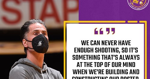 The Lakers know they need to fix their shooting this offseason