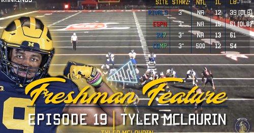 WATCH: Freshman Feature Episode 19 - Tyler McLaurin