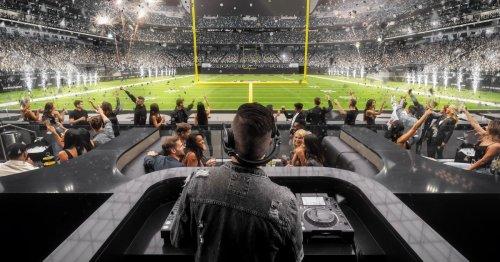 Allegiant Stadium Scores a Nightclub in the End Zone for Las Vegas Raiders Games