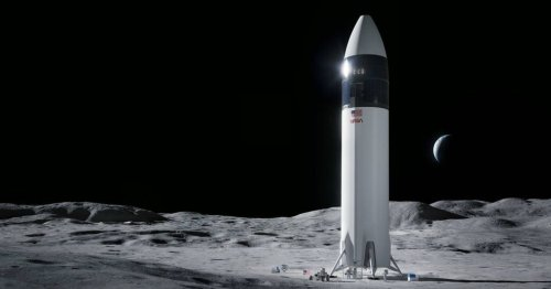 NASA suspends SpaceX's $2.9 billion moon lander contract after rivals protest