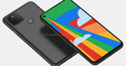 Leaked Google Pixel 5 renders show dual rear cameras and fingerprint sensor