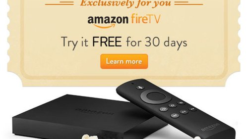 Amazon offering some customers free trial of Fire TV