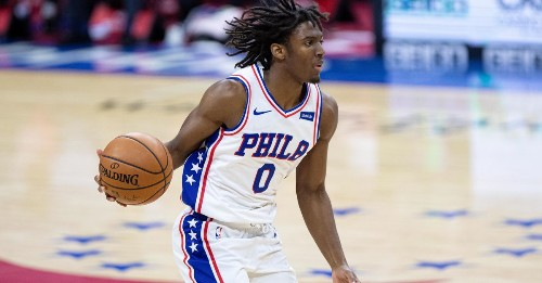 Tyrese Maxey ranked as NBA's best rookie by CBS Sports