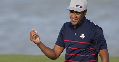 Utah's Tony Finau putts magnificently to beat boyhood friend Rory McIlroy at Ryder Cup