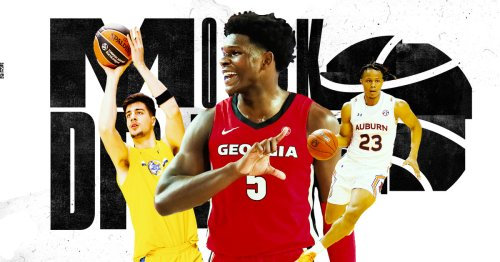 We held an NBA mock draft with our writers picking for their favorite teams