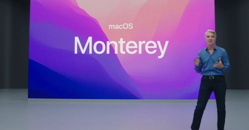 Apple shows us macOS Monterey, with easy movement between devices