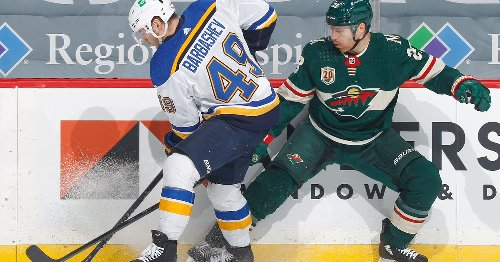 Recap: Wild collapse late after strong second period in 4-3 loss