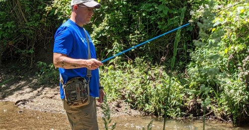 Scoping out microfishing: Nothing like a good first time doing a new thing in the outdoors