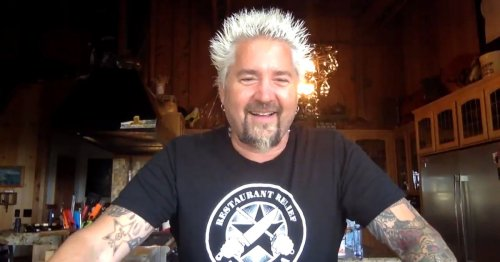 The Mayor of Flavortown Guy Fieri Brings Donkey Sauce Delivery to Greensboro, North Carolina