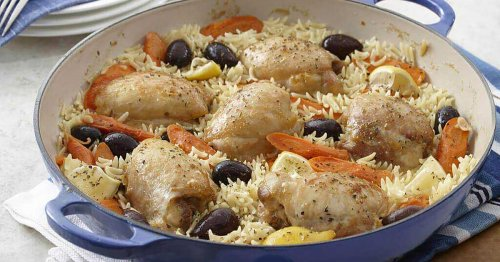 Menu planner: Lemon chicken and orzo a tasty treat that doesn't take much time