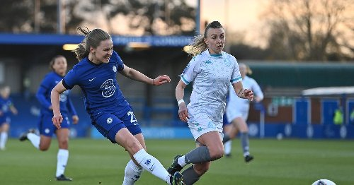WATCH: Niamh Charles opens the scoring for Chelsea against London City Lionesses