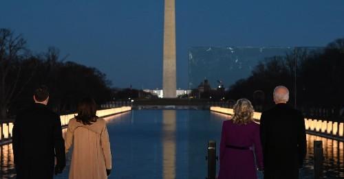 The important symbolism of Joe Biden's memorial to Covid-19's victims