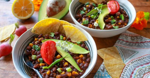 Menu planner: Black bean corn chili makes an excellent meatless meal