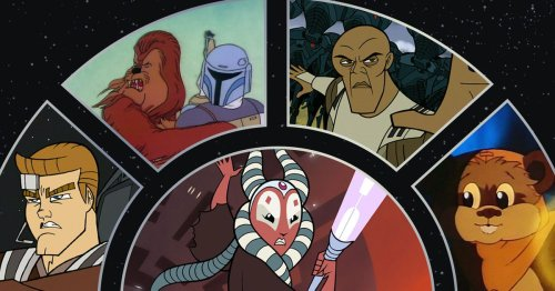 The Star Wars Vintage Collection brings classic cartoons and shows to Disney Plus