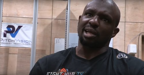Dillian Whyte: I would love to smash his Deontay Wilder's face in