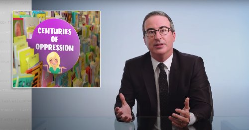 John Oliver Is Not F*cking Around