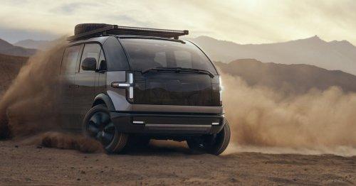 Canoo's electric van will start at $34,750