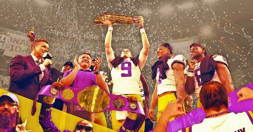 The Magic of LSU and the Perfect College Football Season