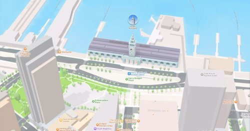 Apple Maps has beautiful 3D details, but can still only take you one place at a time