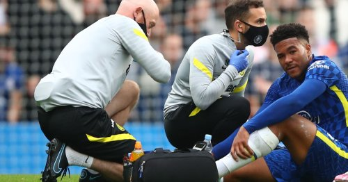 Tuchel confirms 'very painful' Reece James ankle injury