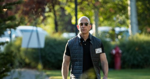 Jeff Bezos has spent years training for space