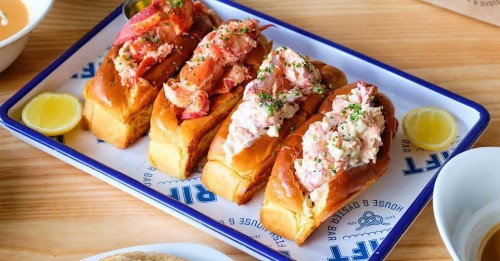 Drift Fish House in Marietta Launches a Pop-Up Slinging Lobster Rolls This Weekend